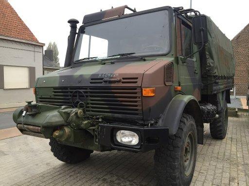 Unimog U1300l Met Lier Om366a En Snelle Assen Vk Cars Bvba